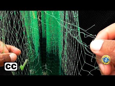 as repairing a fishing net