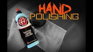 How to polish a car by hand - Adams Revive Hand Polish
