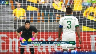 PES 2017 | Australia vs Saudi Arabia Qualifying round of the 2018 FIFA World Cup