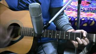 Teri DeewanI - Em,D,C - Kailash kher - Guitar cover lesson easy chords super beginners hindi song