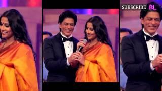 Is Vidya Balan writing a script specially for Shah Rukh Khan?