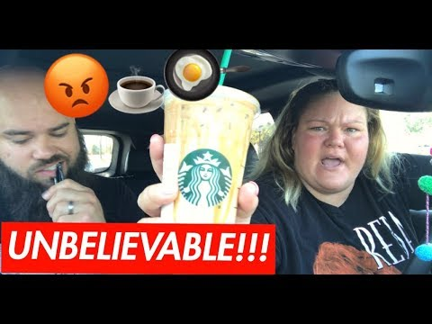 Starbucks Mukbang - Our First Fight On Camera!