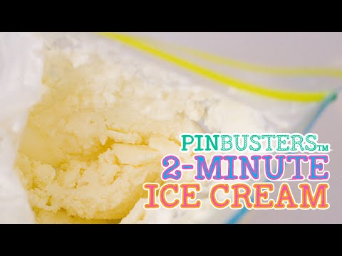 Two Minute Ice Cream // DOES THIS REALLY WORK?