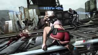 (PS4版) バイオハザード6 マーセナリーズアンリミテッド イドニア高架下(3)