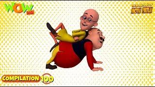 Motu Patlu - Non stop 3 episodes   3D Animation for kids - #100