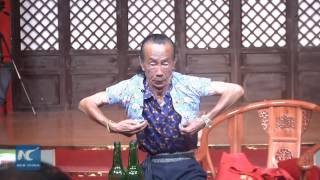 Chinese Kung Fu master shows stunning Body Shrinking skills
