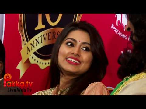 V CARE GLOBAL INSTITUTE 10th Anniversary Celebrations - Actress Sneha Speech