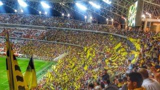 نادي الشعب من مبارة الاتحاد و الوحدات ملحق دوري أبطال أسيا 2016