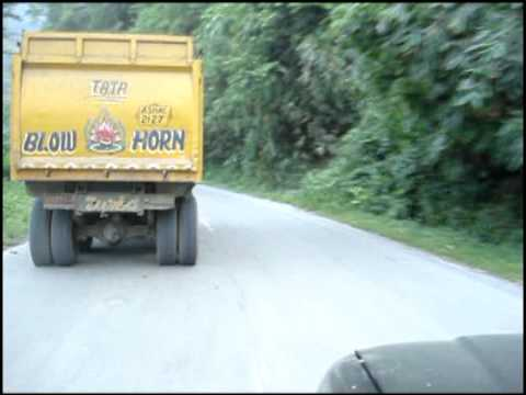 National Highway No.44 (Sonapur Region) Without Essential Road Safety Norms - Saurabh Koiri.mpg