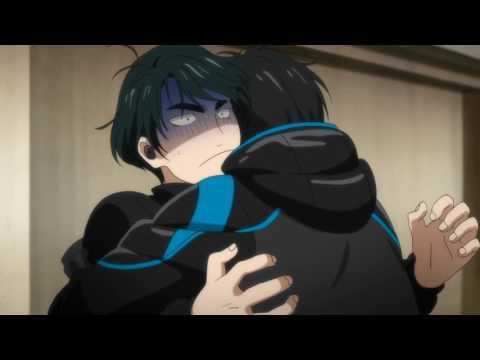 Yuuri's hug   Yuuri!!! on ice