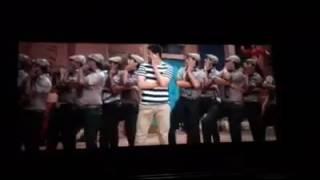 Mahesh funny steps in brahmotsvam
