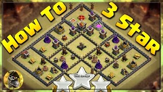 HOW TO 3 STAR this POPULAR Anti 3 Star War Base 2017 (By I Jack Sparrow CoC) | Clash of Clans