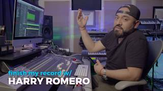 Finish My Record w/ Harry Romero Teaser   Armada University x FaderPro