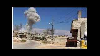 Russia says U.S. dropped phosphorus bombs over Syria, which...