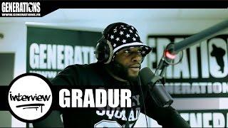 Gradur - Interview #LHAB (Live des studios de Generations)
