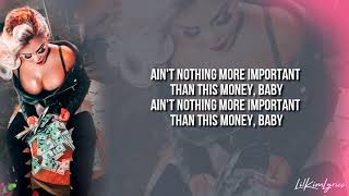 Lil' Kim - Took Us A Break (Lyric Video) HD