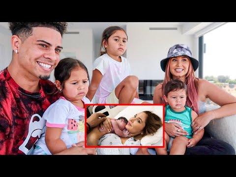 OUR KIDS REACT TO THEIR BIRTH VIDEOS TOO CUTE