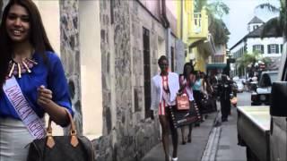 VIDEO: MISS HIBISCUS 2014 CONTESTANTS video judith roumou st maarten news