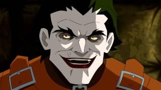 Batman: Under the Red Hood- Batman and Nightwing Interrogate Joker