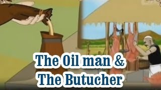 Akbar And Birbal | The Oil man & The Butucher | English Animated Stories For Kids