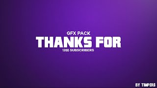 FREE GFX PACK DOWNLOAD- 1.2K