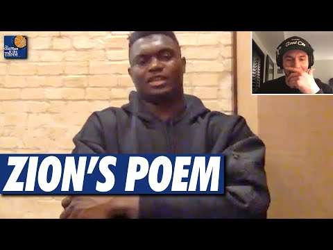 Zion Williamson Leaves JJ Redick Stunned With A Powerful Poem About Growing Up in The Limelight
