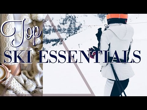 SKI TRIP ESSENTIALS BEAUTY TIPS FOR THE COLD