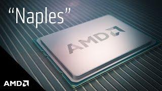 """Preview of """"Naples"""" Server CPU"""
