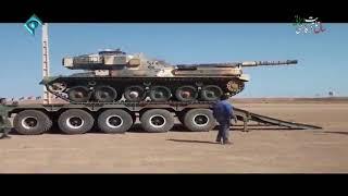 Iran Army Ground Force, Martyr Zarharan Tank maintenance center بازسازي تانك شهيد زرهرن نيروي زميني