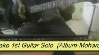 Warfaze - hariye tomake 1st Guitar Solo  ( Album - Moharaj ) Cover By Faysal