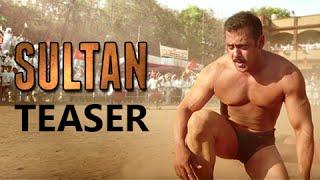 Sultan Official Teaser OUT | Salman Khan, Anushka Sharma