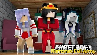 Minecraft Royal Family : RAMONA HAS AN EVIL ARMY! w/Little Kelly & Little Carly