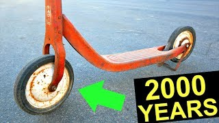 2000 YEAR OLD SCOOTER TRICKS! *first one ever*