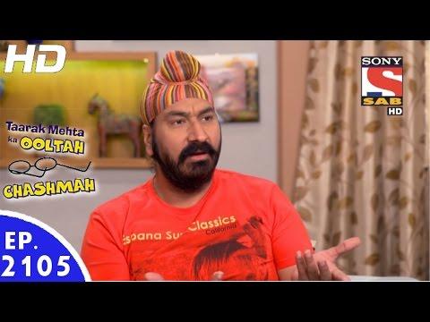 Taarak Mehta Ka Ooltah Chashmah - तारक मेहता - Episode 2105 - 30th December, 2016