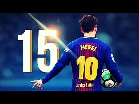 Xxx Mp4 15 Wonderful Goals By Lionel Messi In 2017 2018 HD 3gp Sex