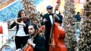 Flashmob de La Vache Qui Rit Maroc au  Morocco mall