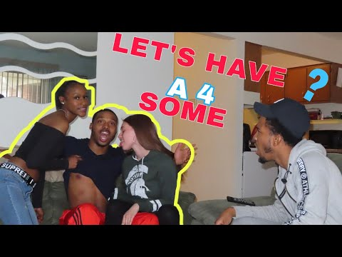 Xxx Mp4 LET 39 S HAVE A 4 SOME PRANK ON AJ Amp TC HEATED 3gp Sex
