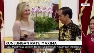 Jokowi & Ratu Belanda Bahas Soal Inklusi Keuangan Indonesia