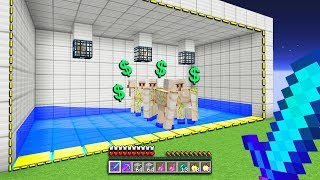 so we started today with no money.. but this NEW skyblock spawner farm can make us MILLIONS!