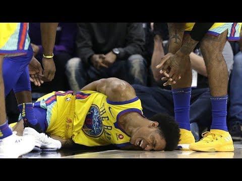The WORST NBA Injuries 2017 2018 GOOSEBUMPS WARNING