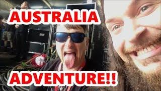 AUSTRALIA ADVENTURE!! DOWNLOAD FESTIVAL WITH KORN | Scottsquatch
