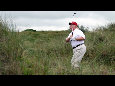 Trump s 13th golf course visit in 65 days