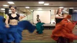 WSU Belly Dance Club Skirt Dance