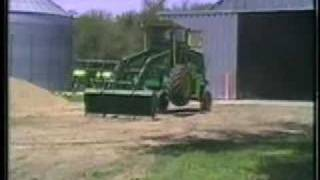 Loader Tractors Built Out Of Old Combines