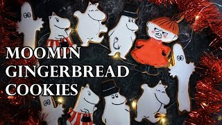 MOOMIN GINGERBREAD COOKIE DECORATION TUTORIAL PART 2