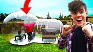 Last To Leave GIANT BUBBLE HOUSE Wins $10,000 Challenge