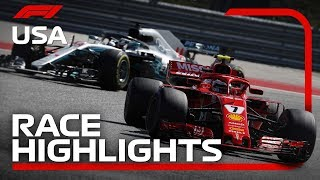 2018 United States Grand Prix: Race Highlights