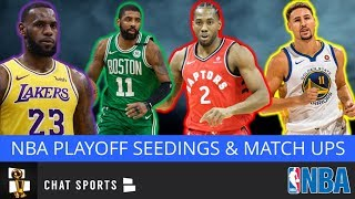 NBA Rumors: 2019 Eastern And Western Conference Playoff Standings & Match Ups As Of March 7th