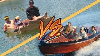 $200 Homemade Boat VS $25,000 Homemade Boat