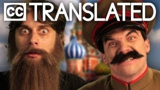 [TRANSLATED] Rasputin vs Stalin. Epic Rap Battles of History. [CC]